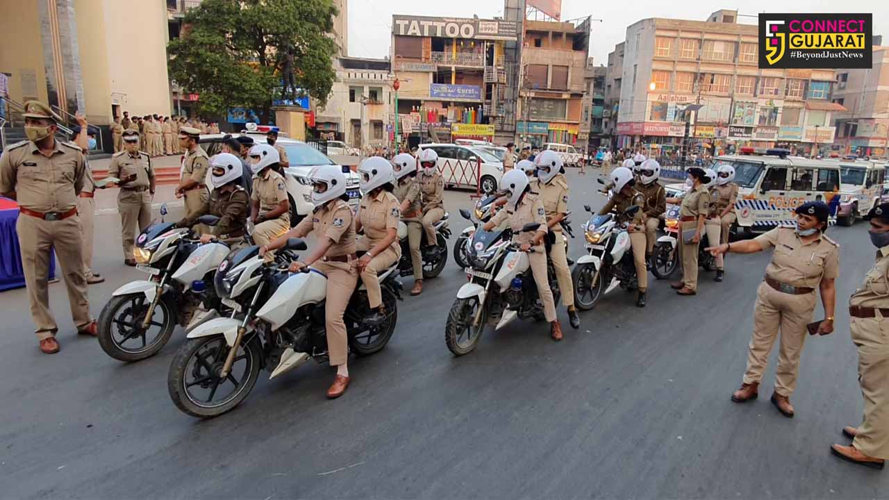 Gujarat Home Minister Pradipsinh Jadeja will flag-off the rally by 'She Team' in Vadodara
