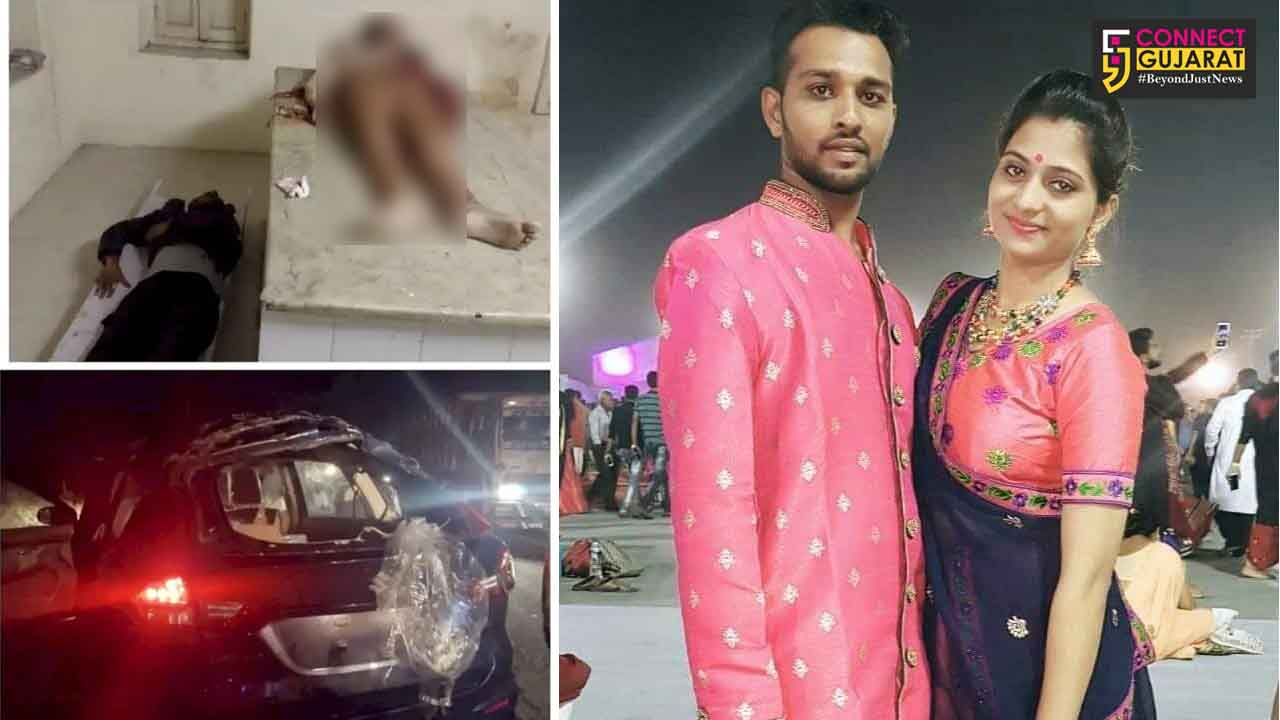 Two members of a family from Vadodara died in a tragic accident near Morbi