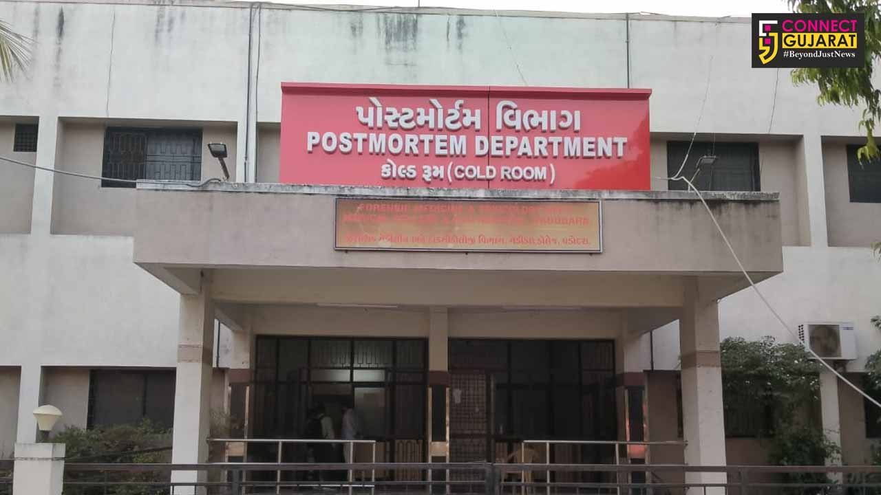 SSG hospital Postmortem department and cold room is the largest in Central Gujarat