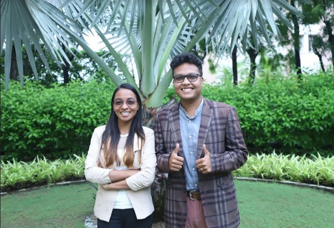 Two International students of Parul University receive 100% scholarship for master studies