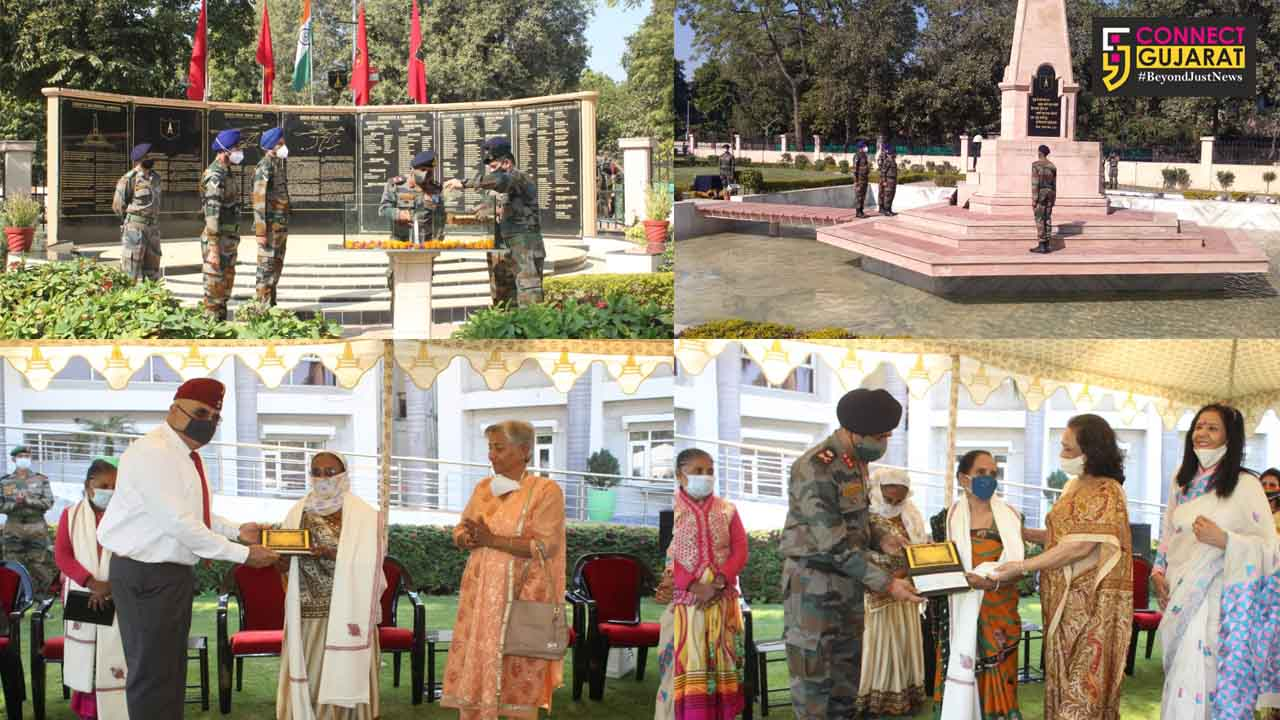 Golden Katar division felicitates Veer Naris on Army Day
