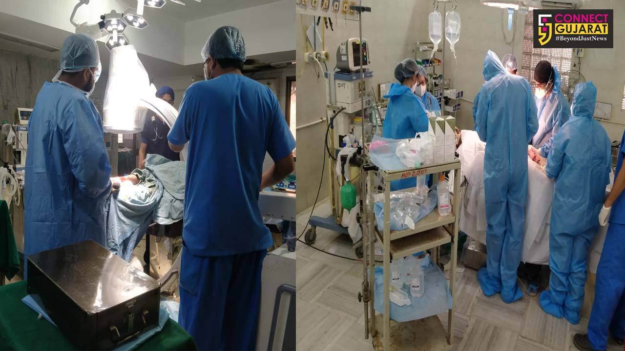 Sayaji Hospital rescues patients in need of surgery during critical Corona period