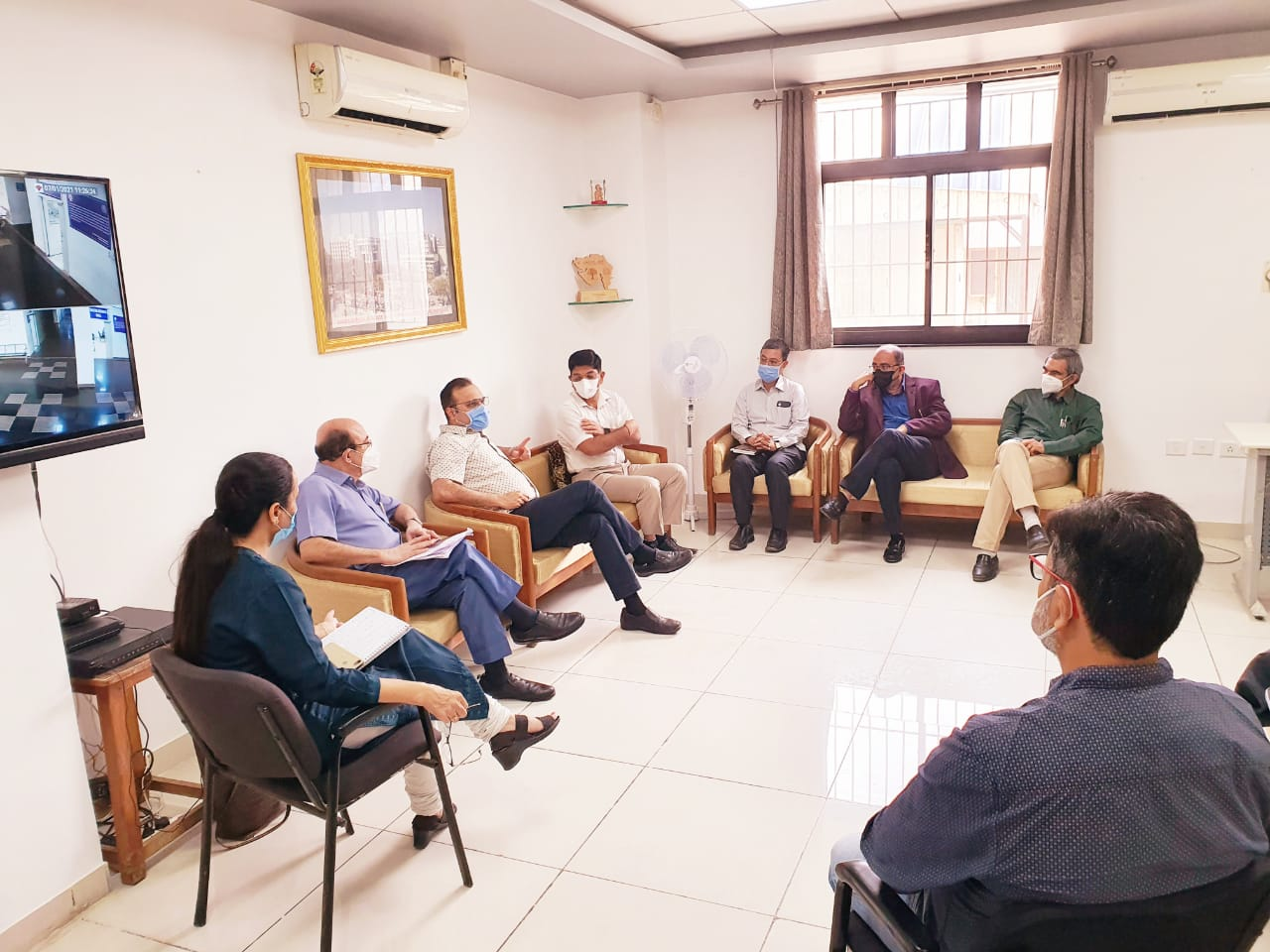 Patient numbers comes down in covid hospitals in Vadodara