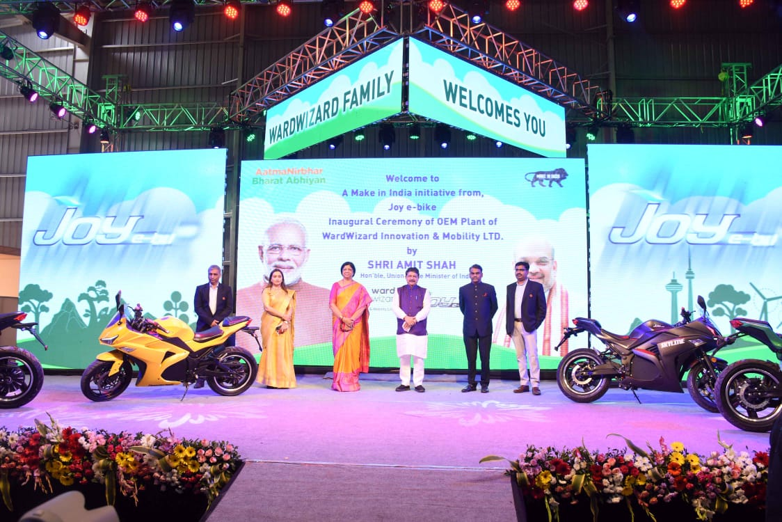Wardwizard Innovation inaugurates one of India's largest electric two wheelers plant