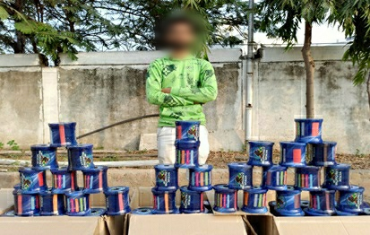 Vadodara rural SOG arrest one for selling banned Chinese thread