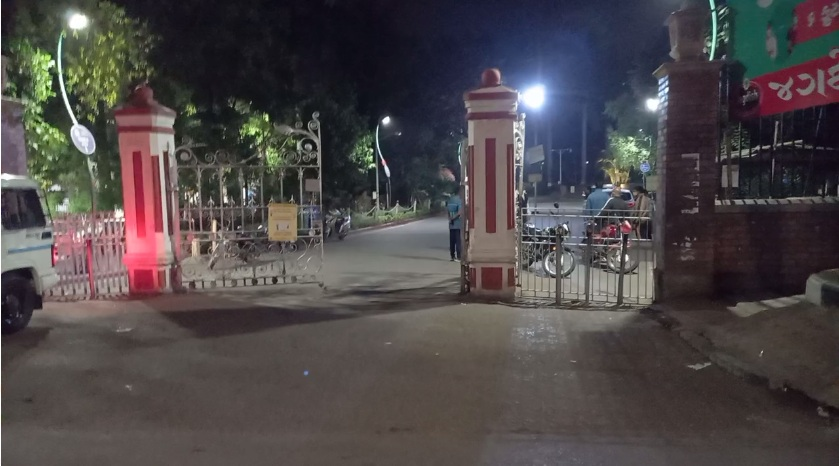 Demand starts to eliminate the harassment of anti-social elements in Kamatibaug in Vadodara