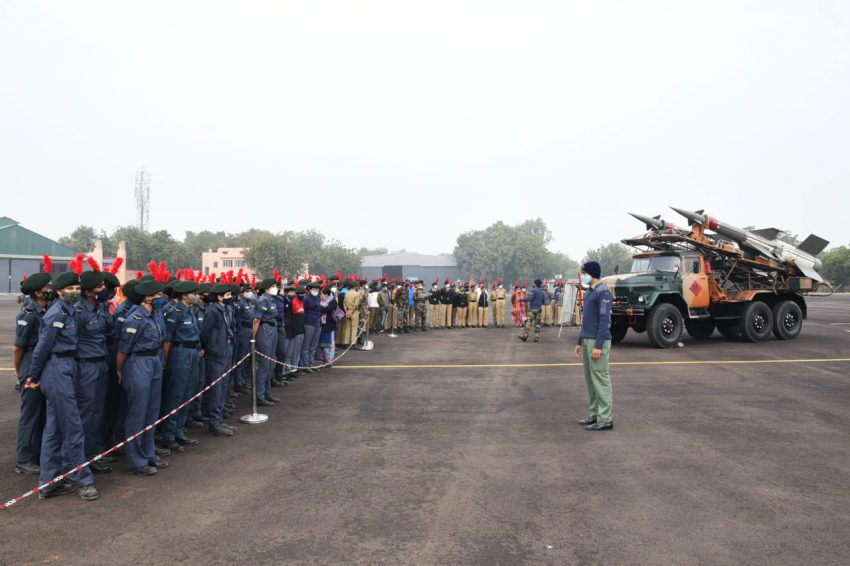 Air Force station Jodhpur conduct Know Your Forces