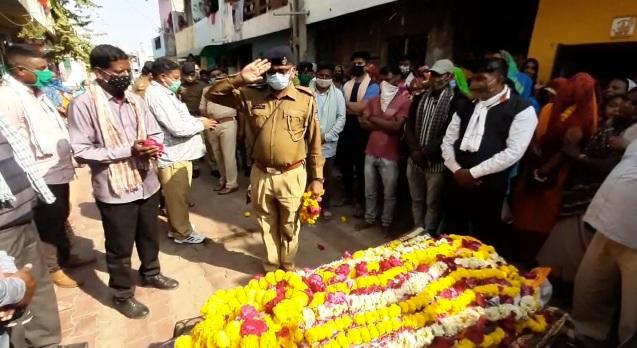 Police jawan died fainted and later died in Vadodara