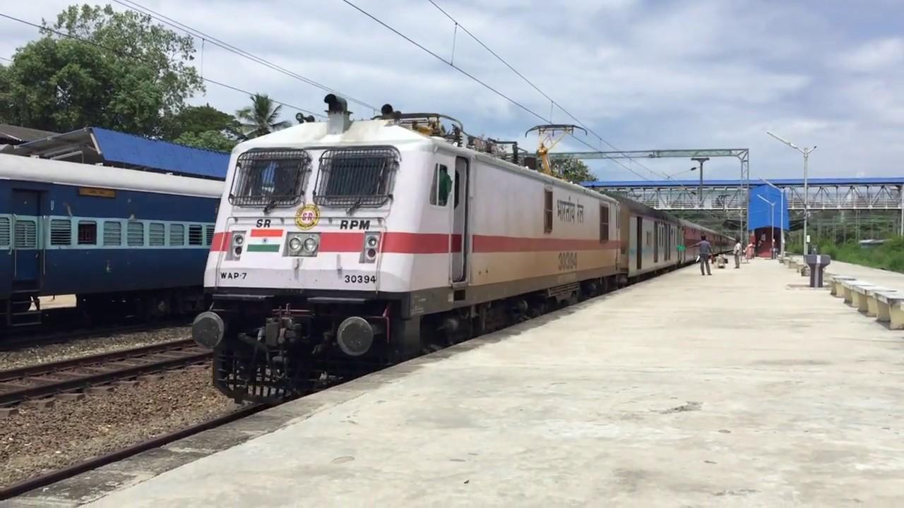 Additional superfast special train to run between Trivandrum and Hazrat Nizamuddin via Vasai road
