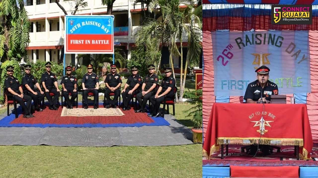 AD Brigade celebrates Raising day at Vadodara