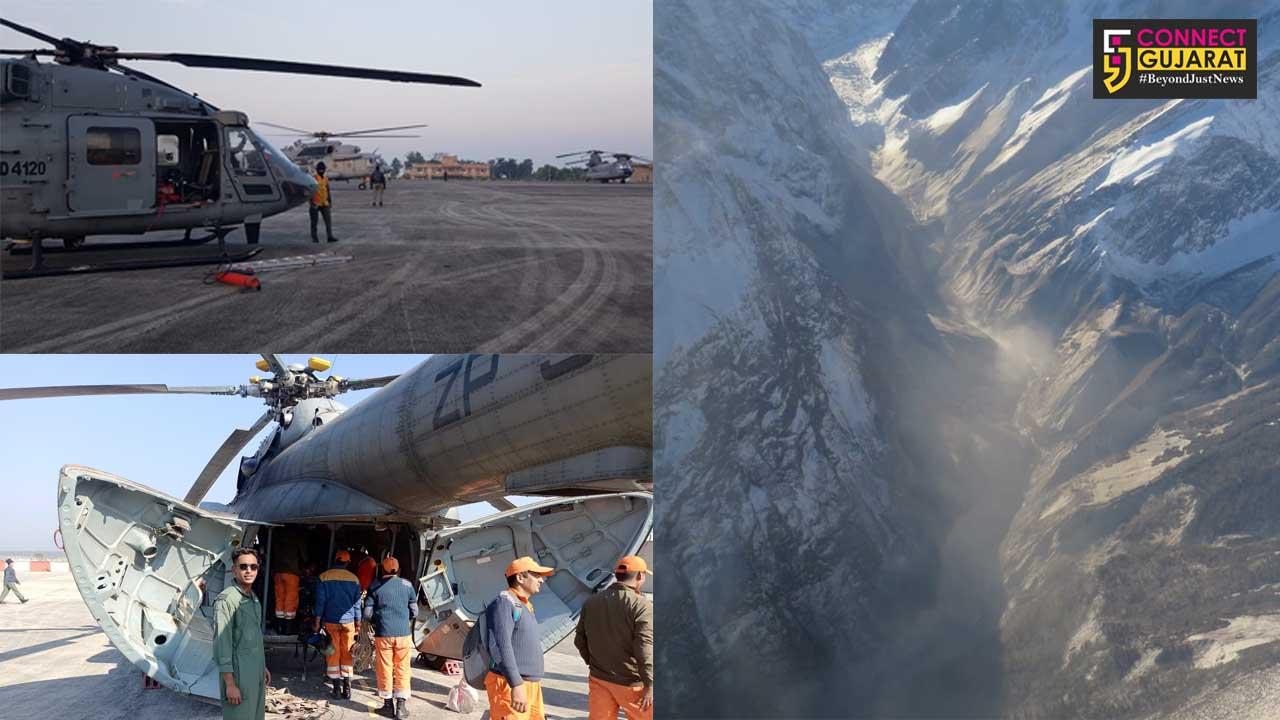 HADR operation in Uttarakhand by IAF