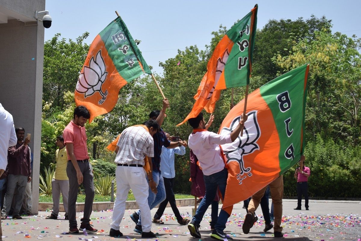 BJP sweeps all six Municipal Corporation elections in Gujarat