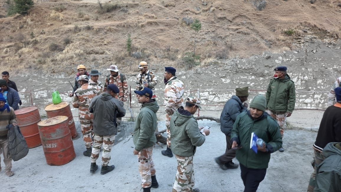 Relief & rescue work underway in full swing in flood-hit areas of Uttarakhand
