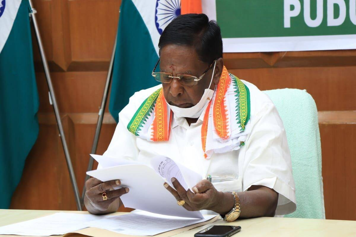 Puducherry CM Narayanasamy loses trust vote in assembly