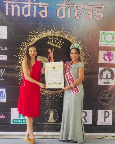 Professional make up artist from Vadodara won Mrs. India Divas Universe 2021