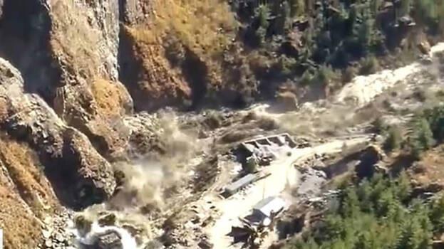 Glacial burst in Uttarakhand's Chamoli leads to massive flood, alert sounded
