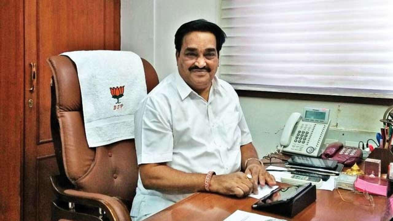 Gujarat BJP president C.R.Patil in Vadodara