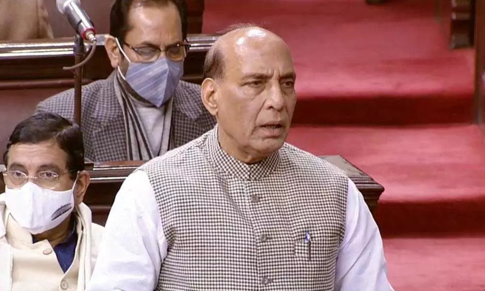 Rajnath Singh:Agreement reached with China for disengagement along Pangong Lake