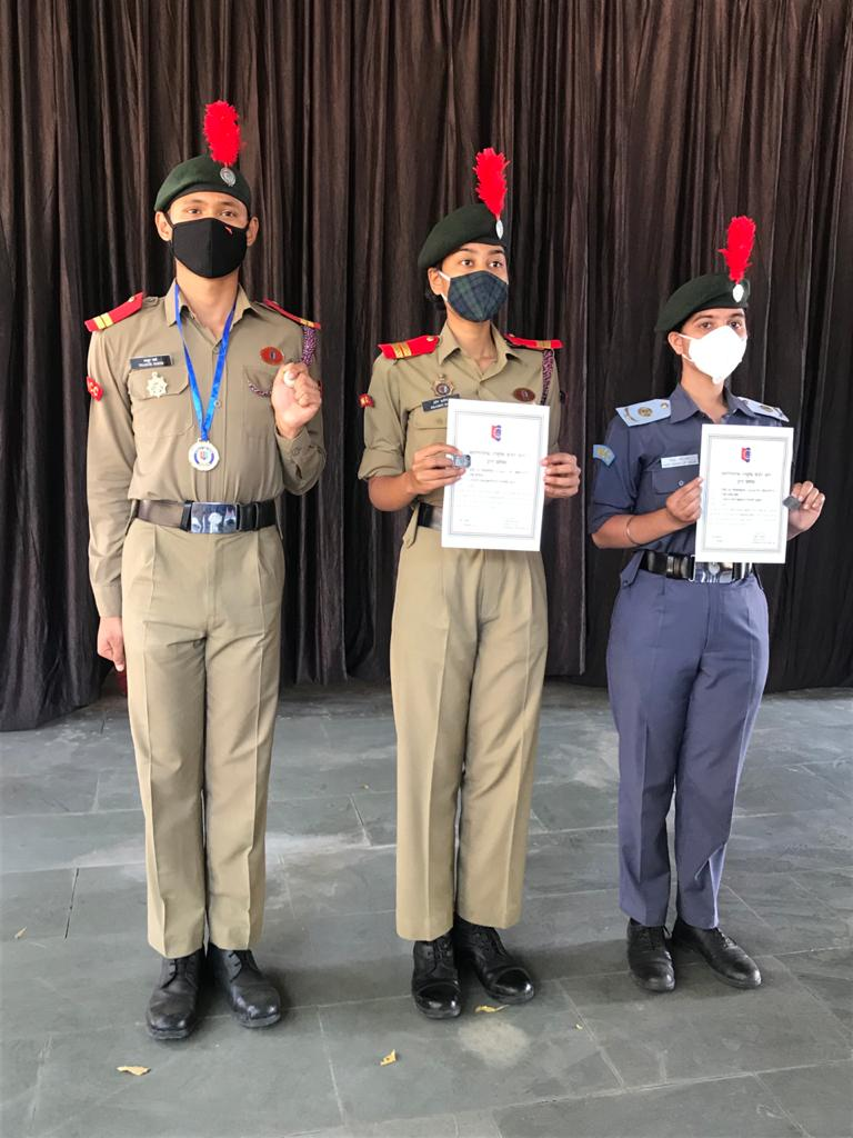 Two girl NCC cadets from Gujarat gets DG Commendation