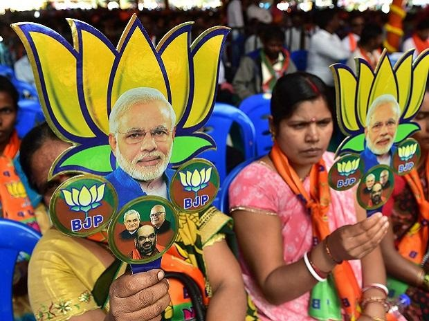 Gujarat Municipal Election: BJP gears up for celebrations as trends indicate clean sweep