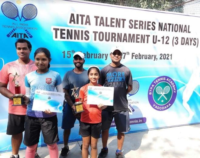 Santushti Agrawal U-12 Runner-Up in AITA National Tennis Tournament