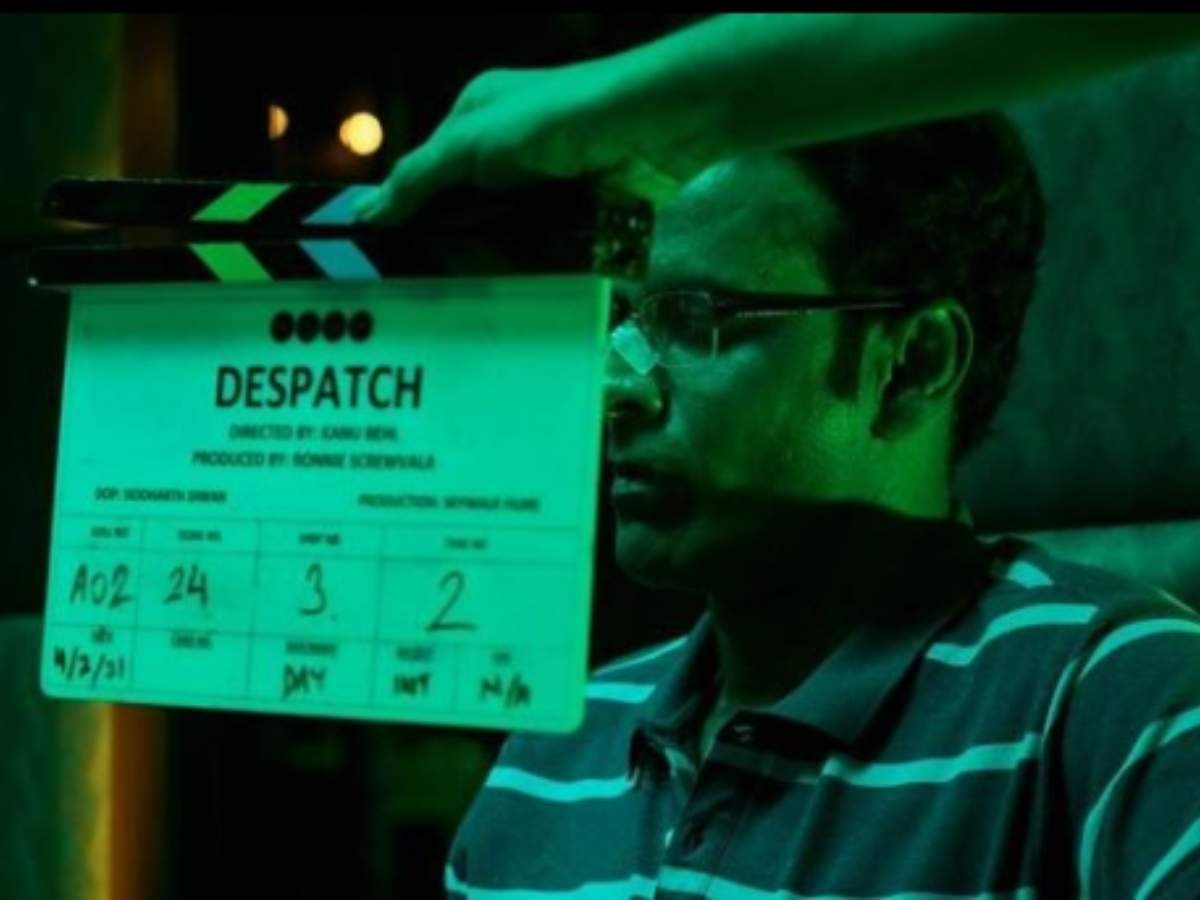 Manoj Bajpayee starts shoot for 'Despatch'