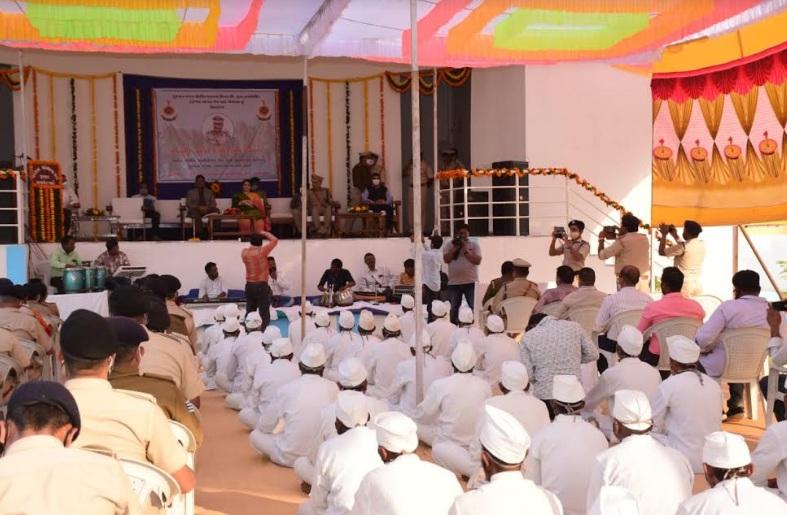 Formal inauguration of open jail and gaushala in Vadodara
