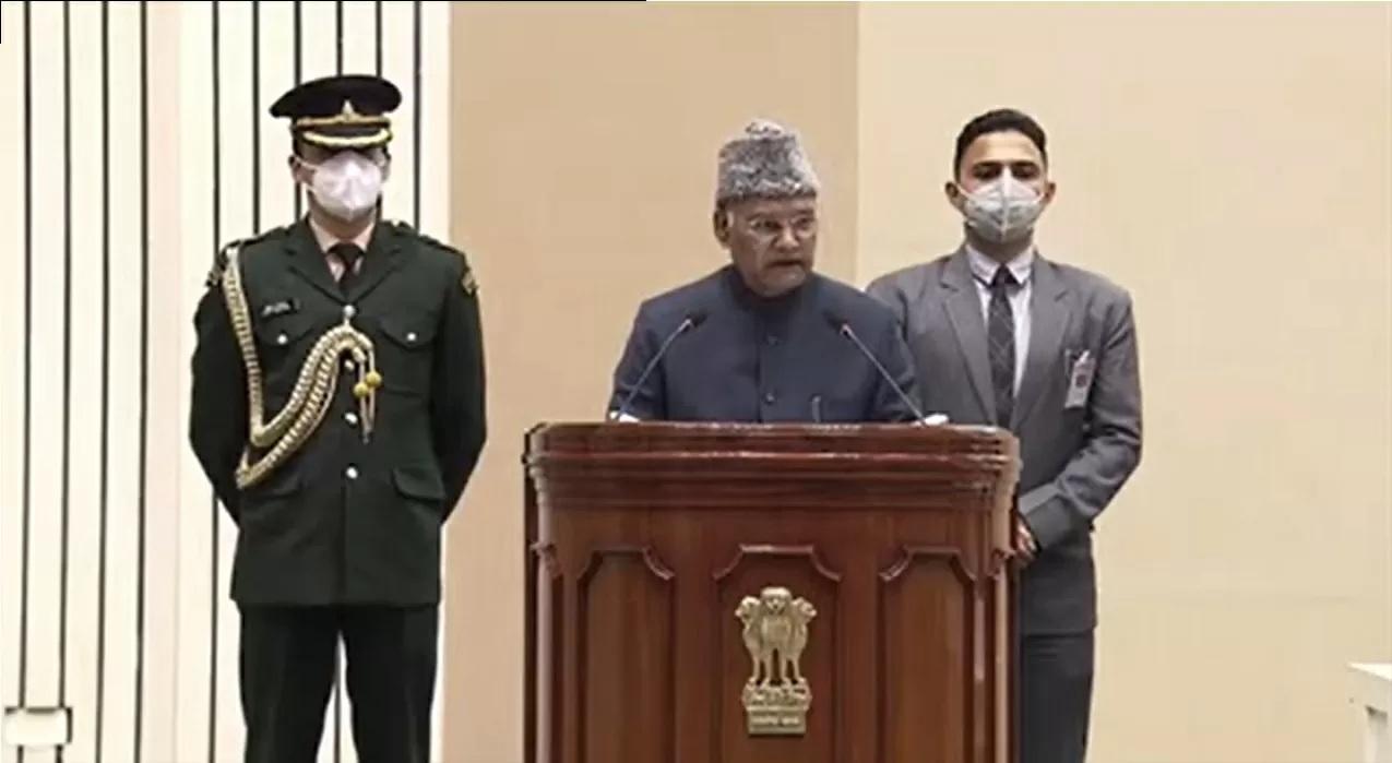 President Kovind addresses 'Shri Guru Ravidas Vishva Mahapeeth Rashtriya Adhiveshan
