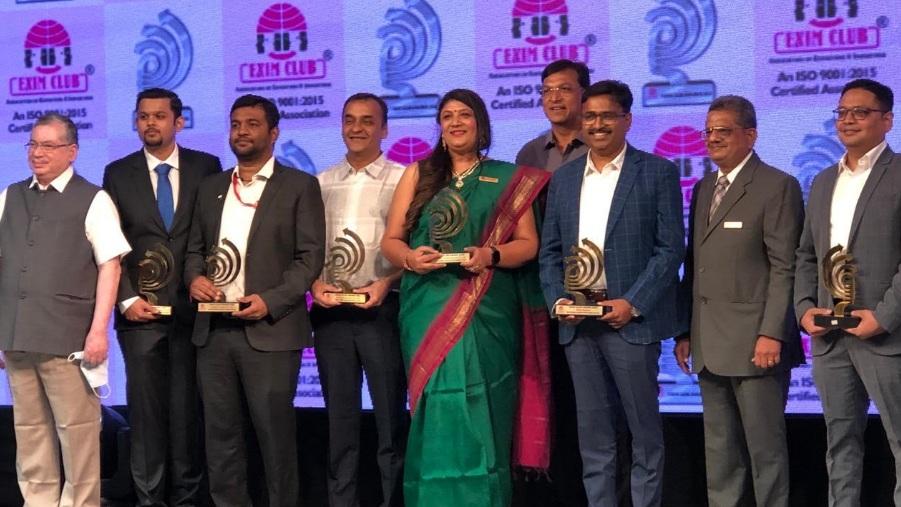 Serum Institute Pune felicitated in Exim club awards ceremony held at Vadodara