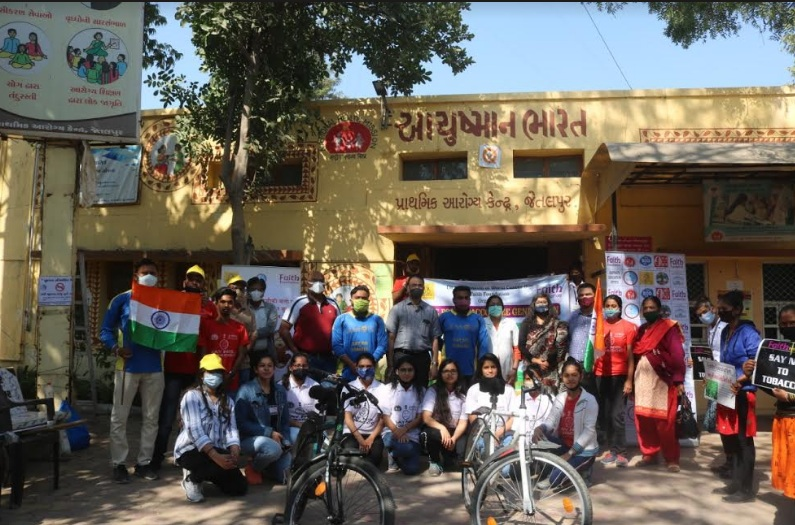 Matar village in Kheda pledge to end tobacco consumption