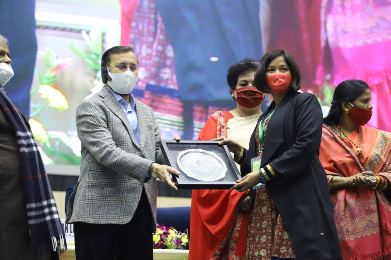 Police Covid Women Warrior from Gujarat felicitated at national level