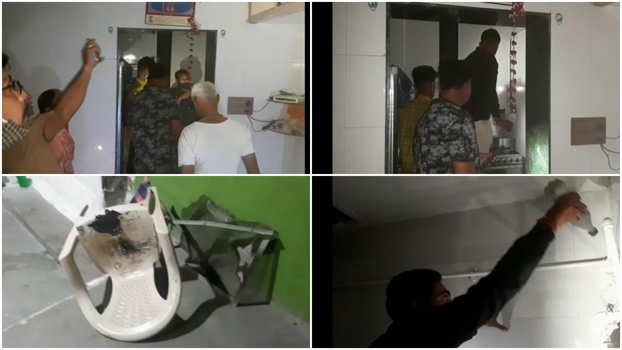 Elderly couple and son injured in fire at Wadi area in Vadodara