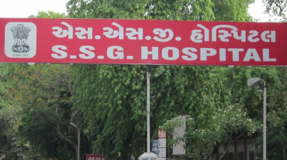 Around 15 trainees of Pratapnagar police headquarters rushed to SSG hospital after complained of uneasiness