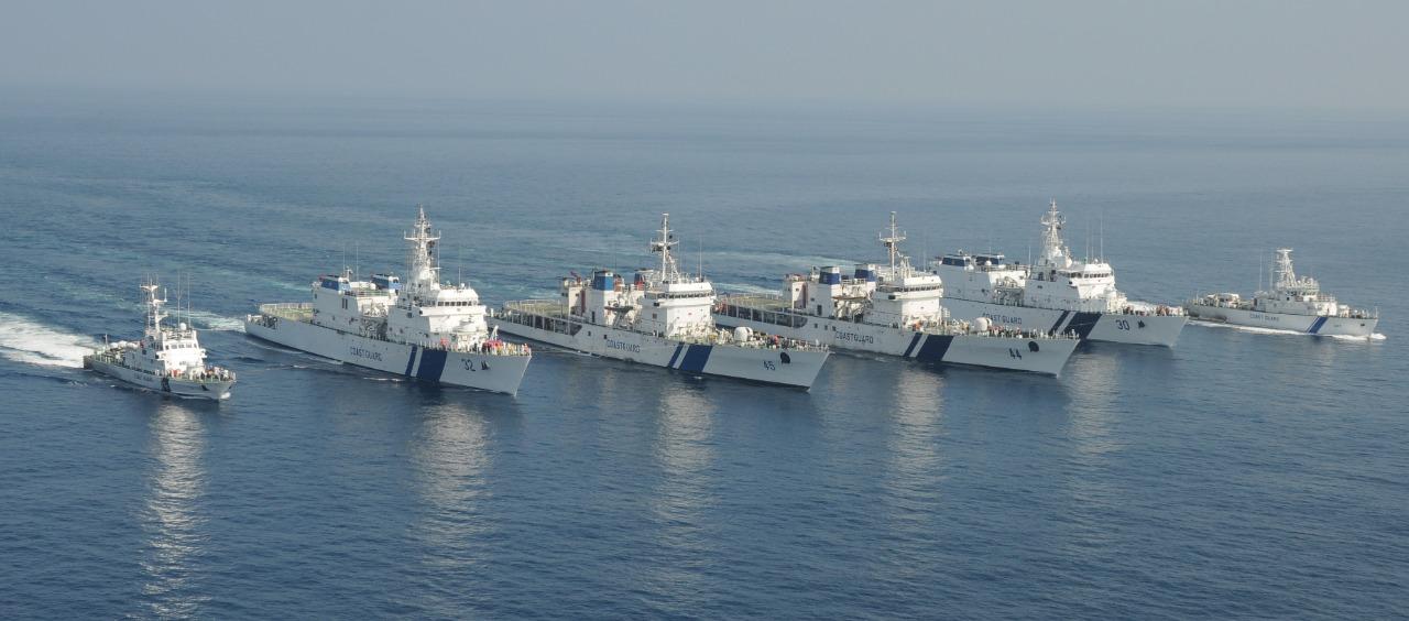 Indian Coast Guard celebrates 45th Raising day