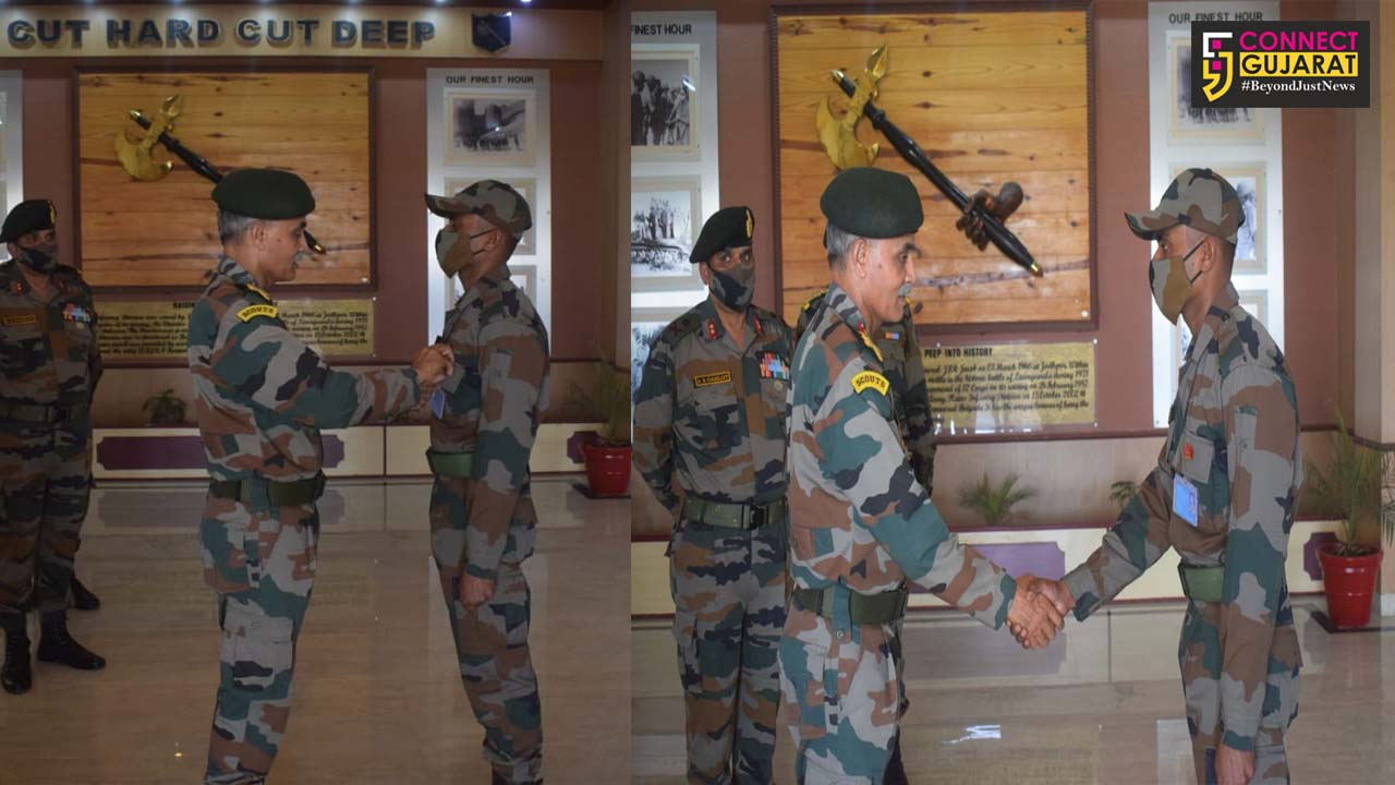 General Officer Commanding-in-Chief, Southern Command visited Jaisalmer Military Station