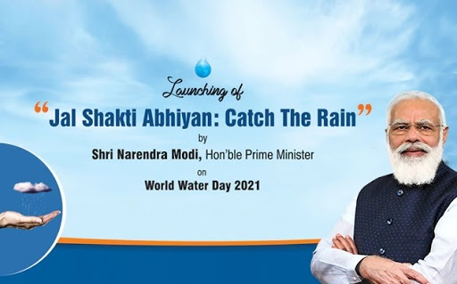 PM Modi to launch Jal Shakti Abhiyan: Catch the Rain campaign on World Water Day today