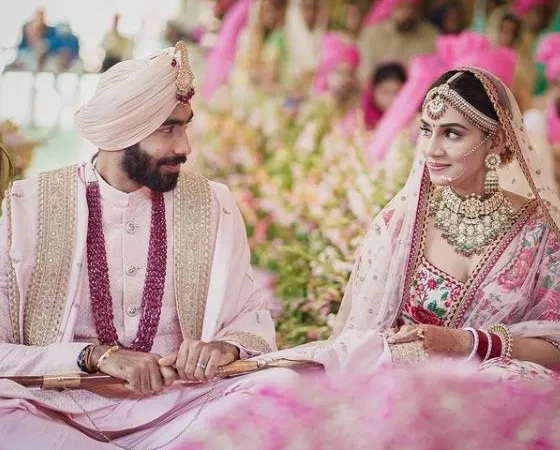 Jasprit Bumrah marries Sanjana Ganesan in a private ceremony in Goa