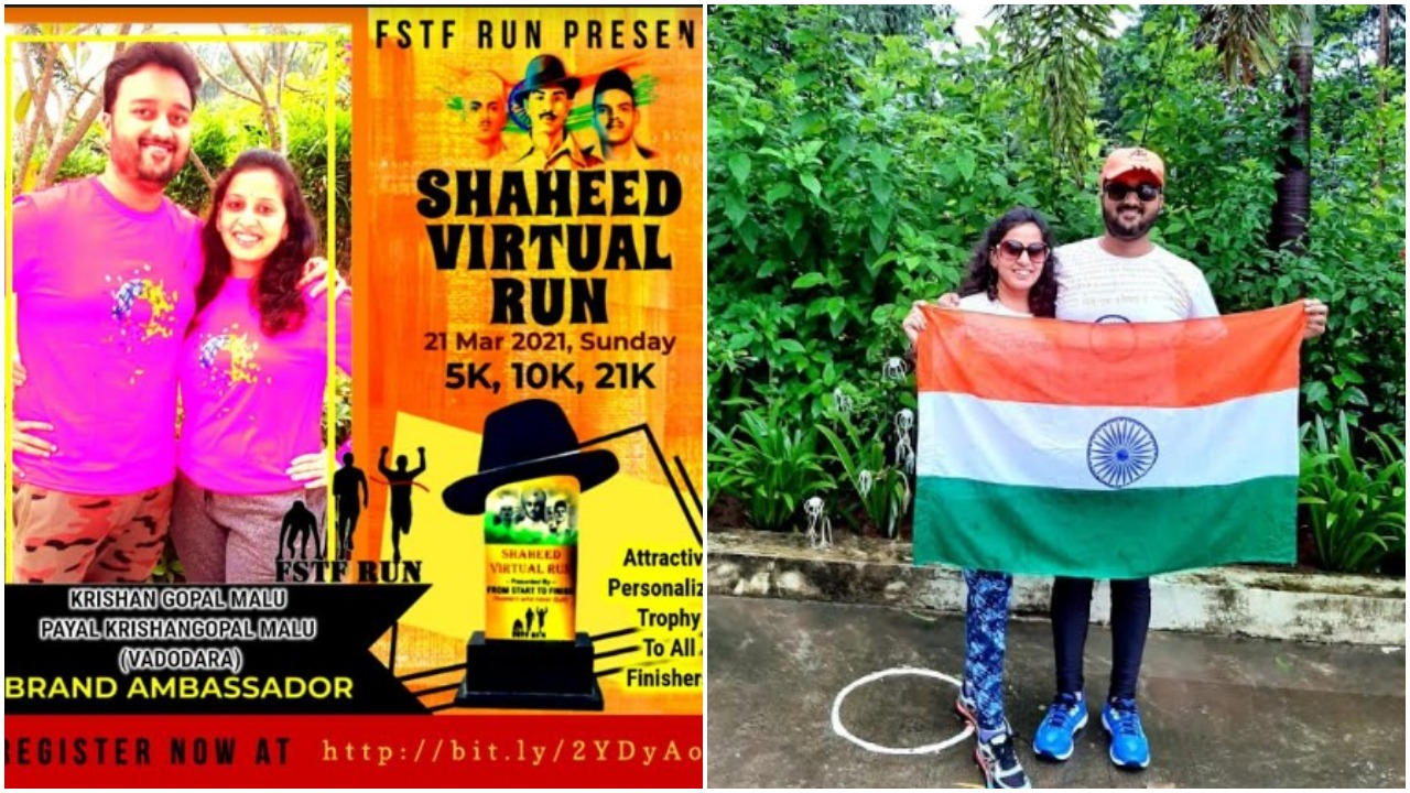 Shaheed Virtual Run in Vadodara to honor martyrs of motherland
