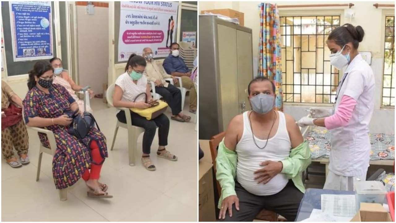 82% vaccination at Vadodara district after a total 1,03,350 citizens get vaccinated