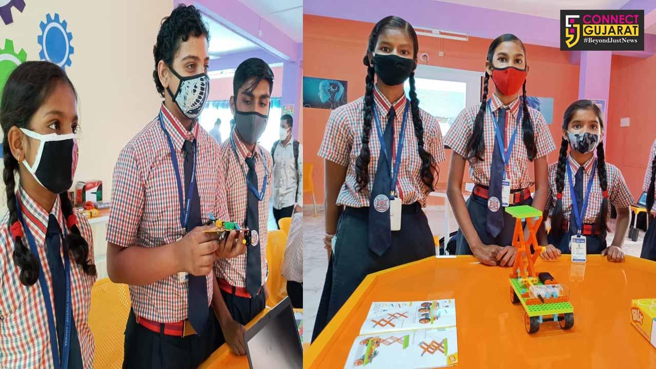 New steps at Yanshi Sharda school in Vadodara with the inauguration of Atal Tinkering Lab