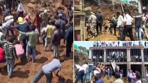 Gujarat: Several feared trapped after building collapses in Surat, rescue ops underway