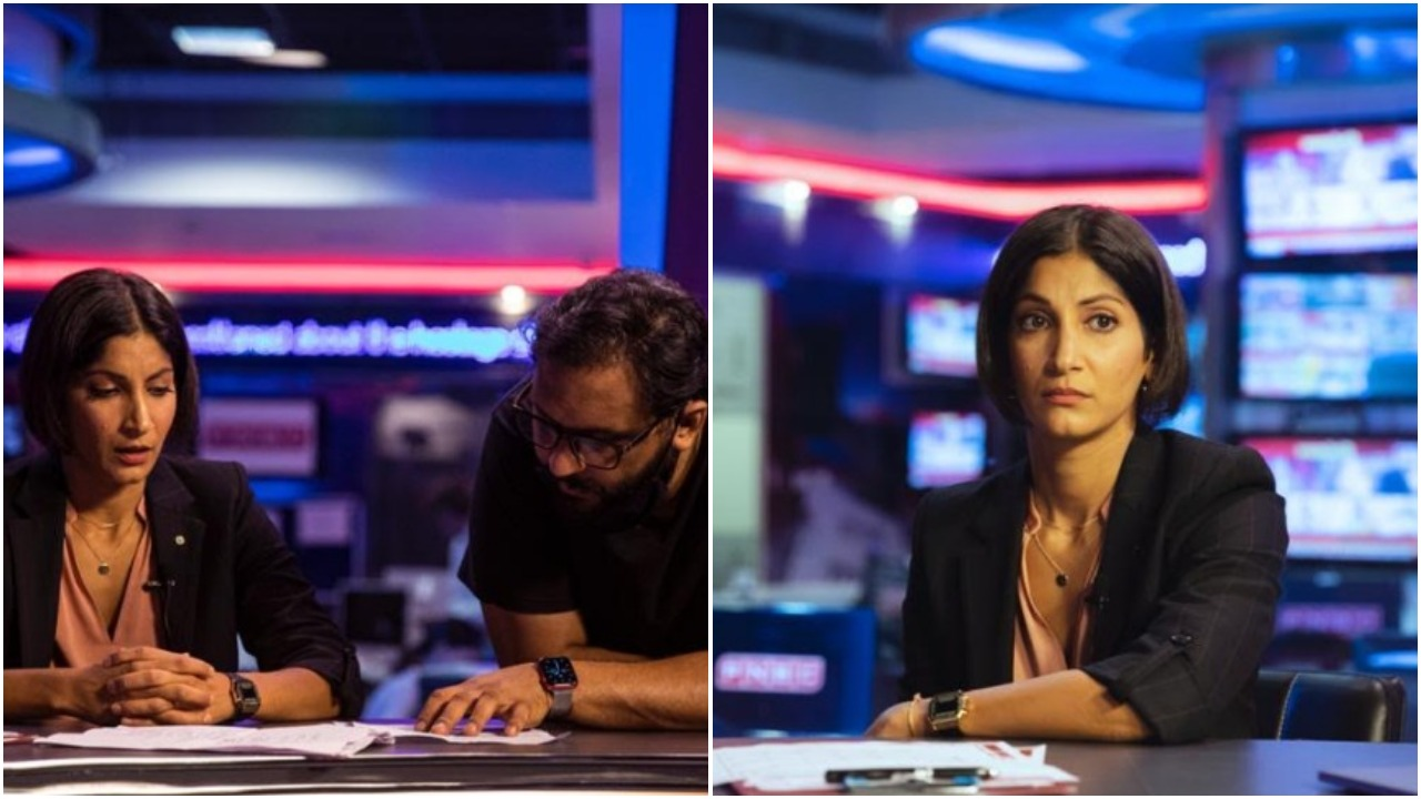 RSVP movies introduce and unveil Maya Sarao's look as journalist from upcoming thriller, 'A Thursday'