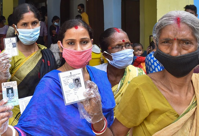 West Bengal records over 82 percent voter turnout