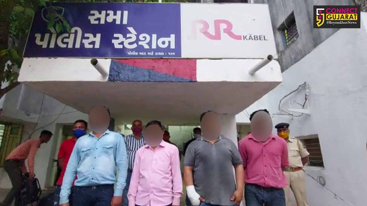 Vadodara police arrested four bogus journalists for demanding ransom from spa manager