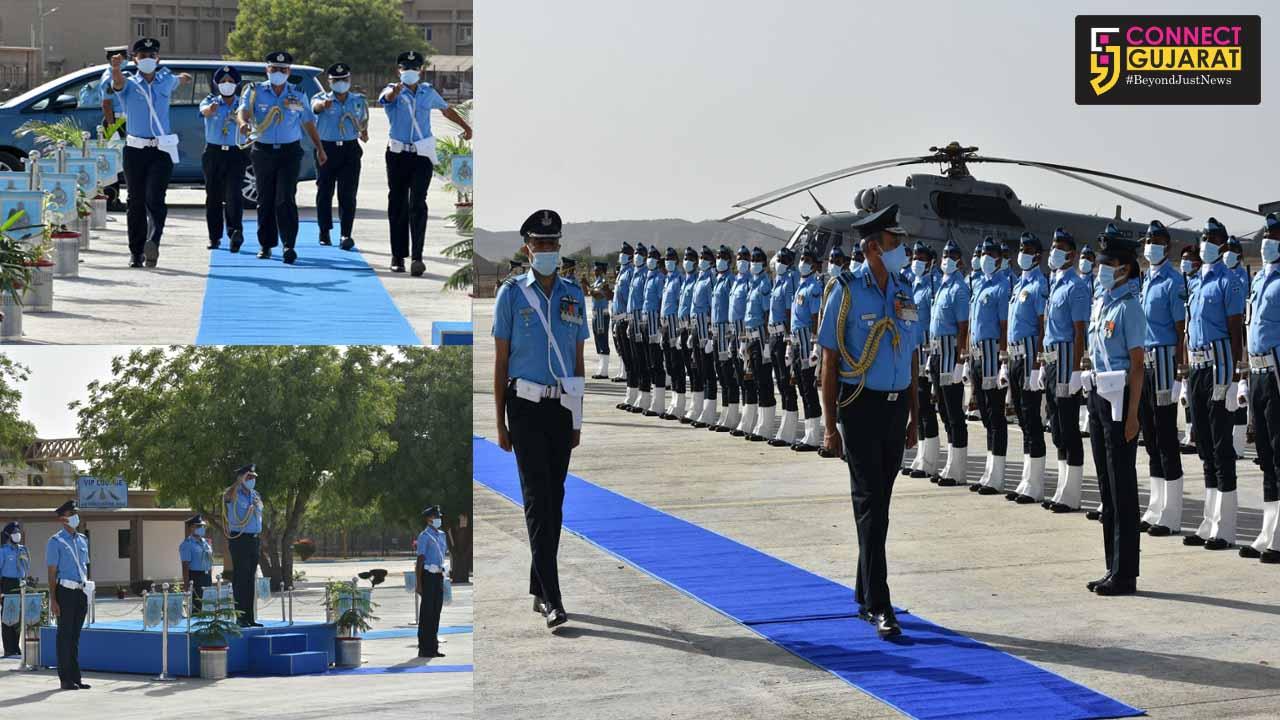 Air Marshal SK Ghotia visit Bhuj Air Force station