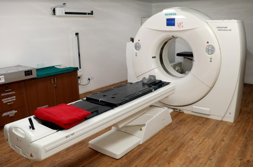 Radiation oncology department in SSG treated 25 patients in 10 days