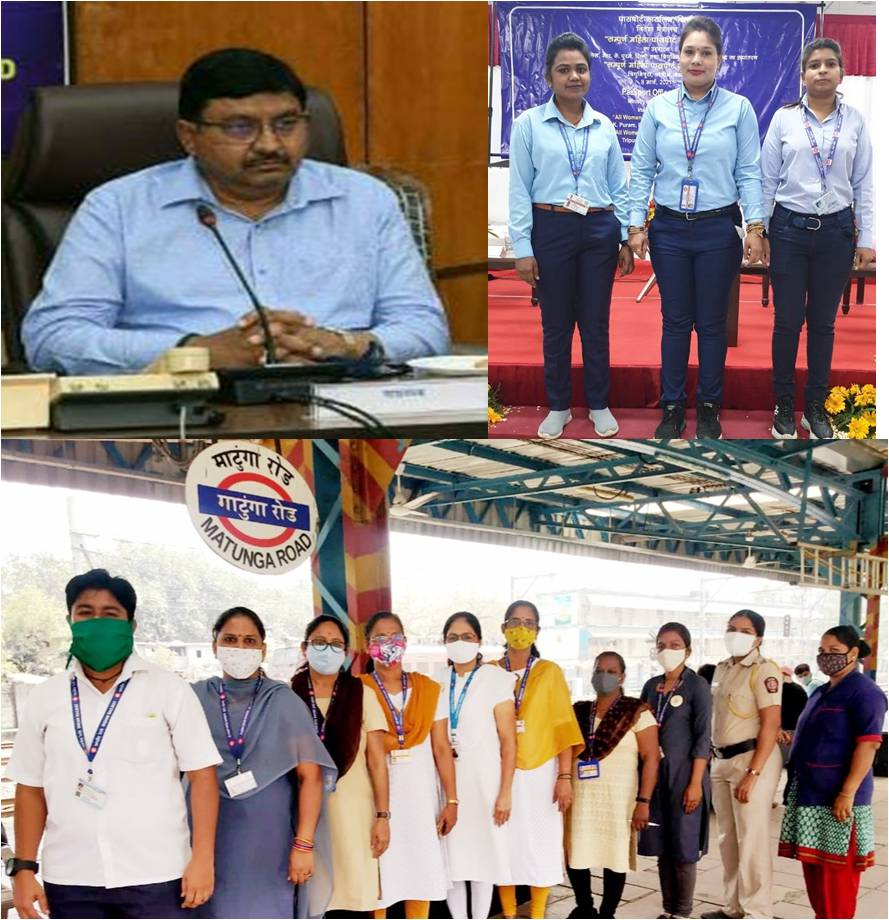 Three women loco pilots of WR felicitated by Ministry of External Affairs