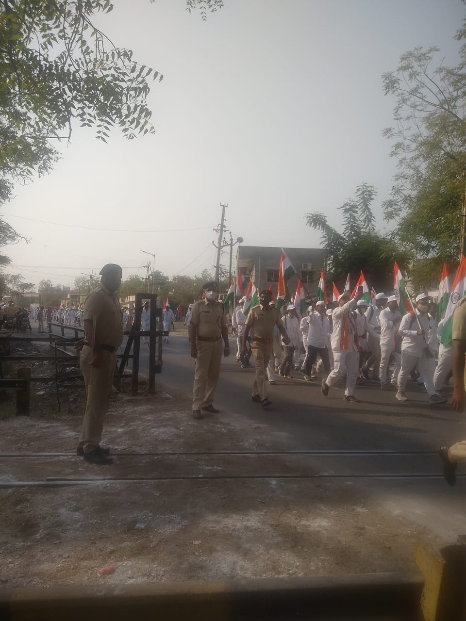 Various events organized for freedom march in Vadodara division of Western Railway