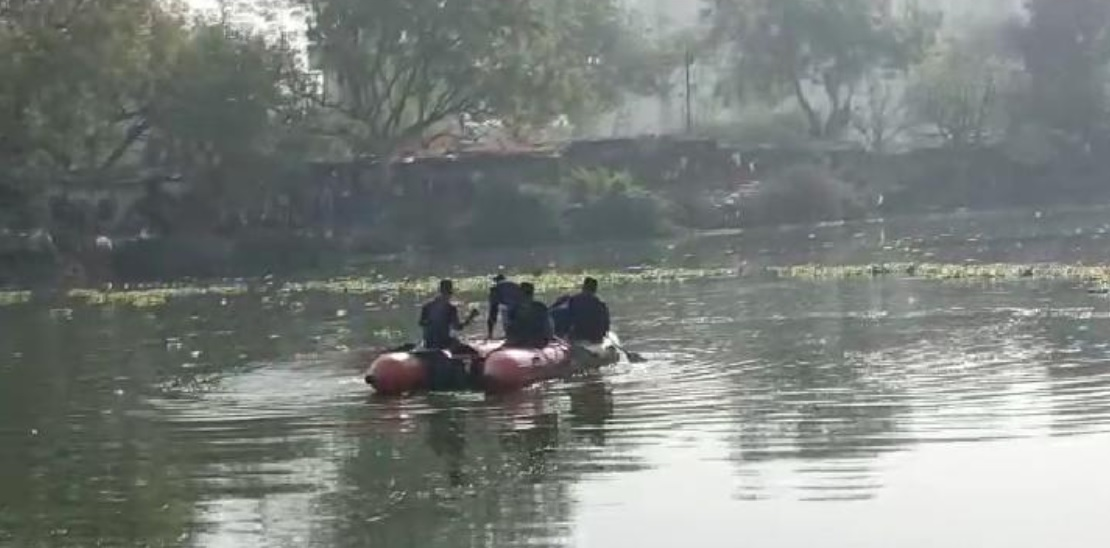 Body of young man went missing two days ago found inside the lake near Vasna