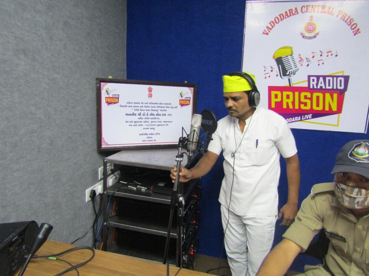 "Vadodara Central Jail inmates heard Prime Minister's ""Mann Ki Baat"" for the first time"